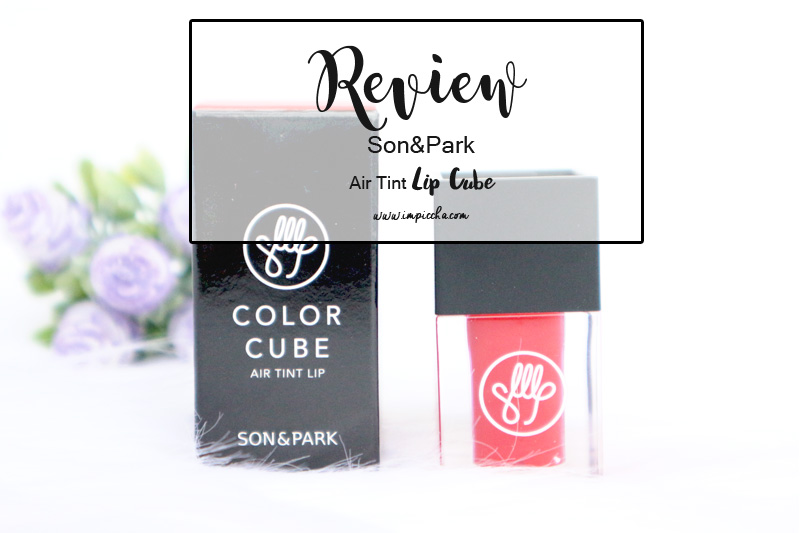 Review Son&Park Air Tint Lip Cube