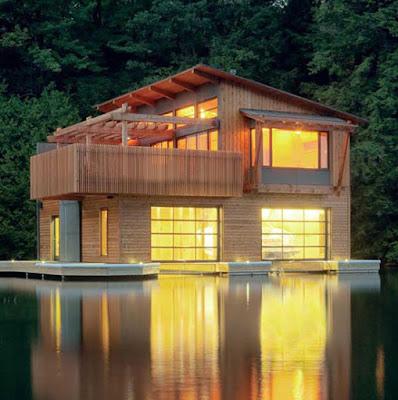 Contoh Desain Model Rumah Kayu Minimalis Modern