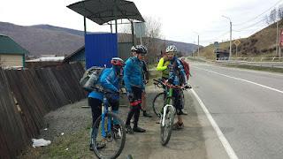 Велосипедисты в Култуке