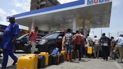 fuel scarcity nigeria 2018