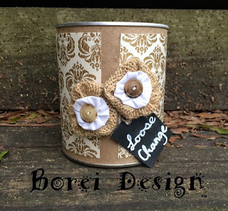 One year of craft tutorials how to recycle can for storage diy project