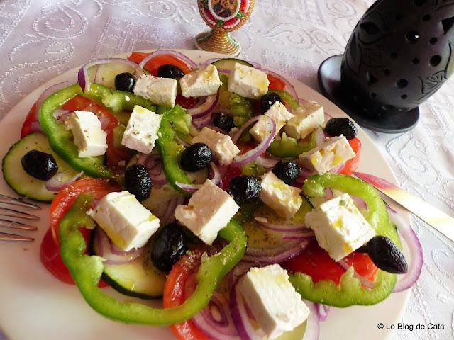 Salata greceasca  (Horiatiki)