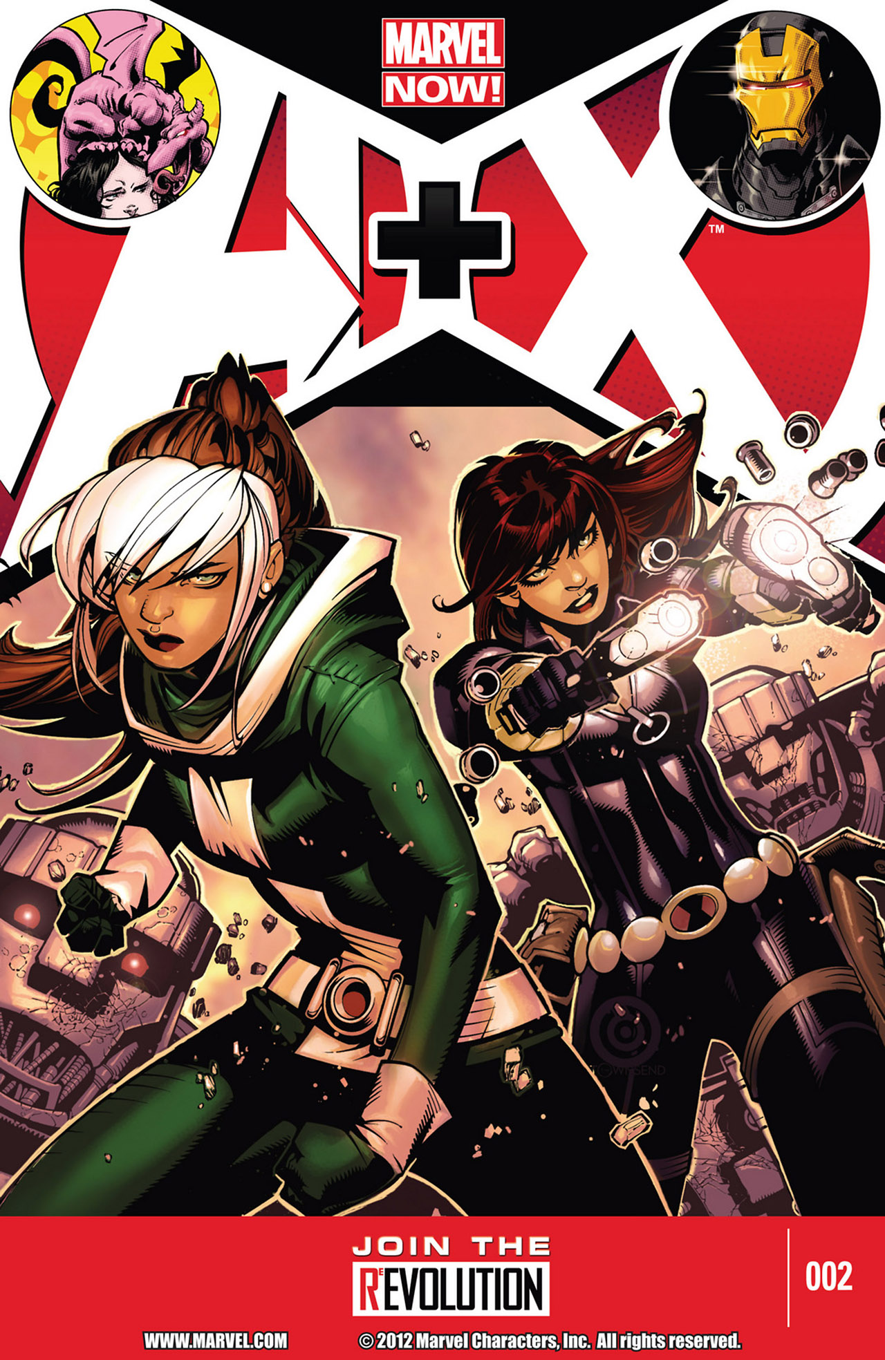 Read online A X comic -  Issue #2 - 1