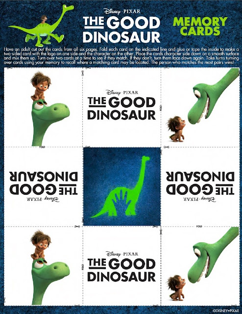 The Good Dinosaur Memory Cards