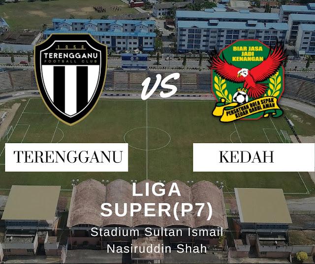 Live Streaming Kedah Vs Terengganu FC 27 / 4 / 2018