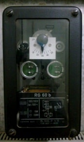 Rotor earth fault relay