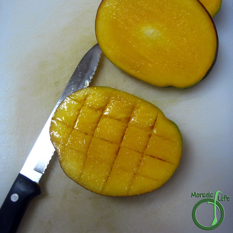 Morsels of Life - How to Cut a Mango - Find out how to cut a mango easily using this simple slicing method.