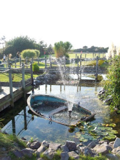Solent Springs Adventure Golf course in Gosport, Hampshire
