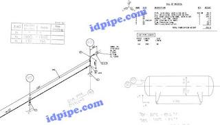 bill of material pada isometric
