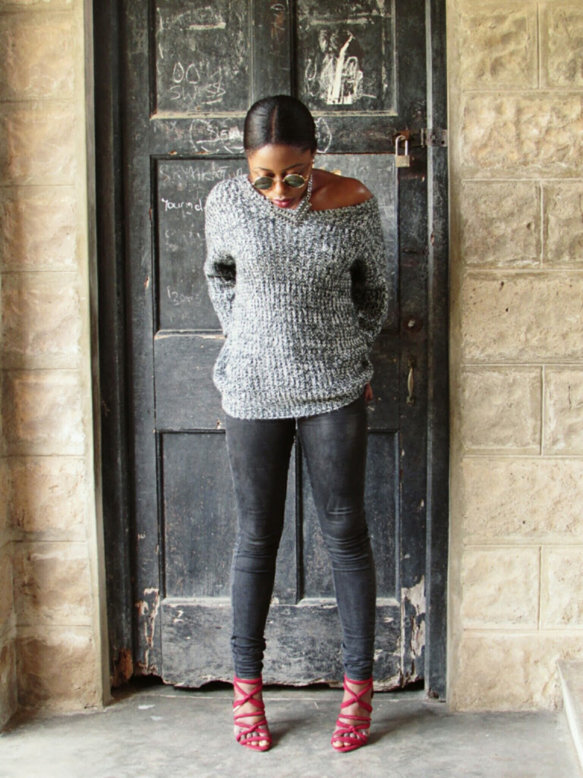 sweater, fall weather, shades of grey