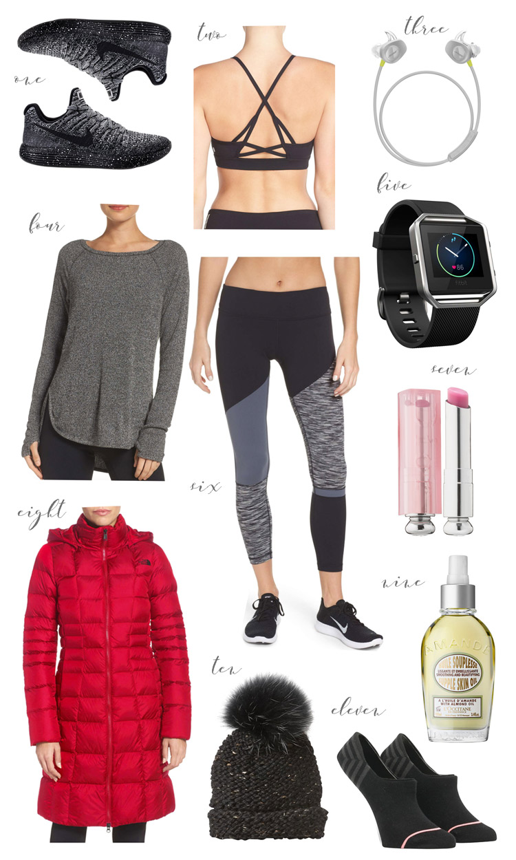 athletic work out wear and gear