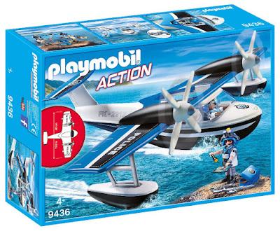 Toys - PLAYMOBIL Action 9436 Hidroavión de la policía  Producto Oficial 2018 | Edad: +4 años  COMPRAR ESTE JUGUETE