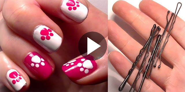 Learn - How To Create Hello Kitty Inspired Nail Art, See Tutorial