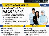 Lowongan Dosen Institut Informatika & Bisnis Darmajaya 2017