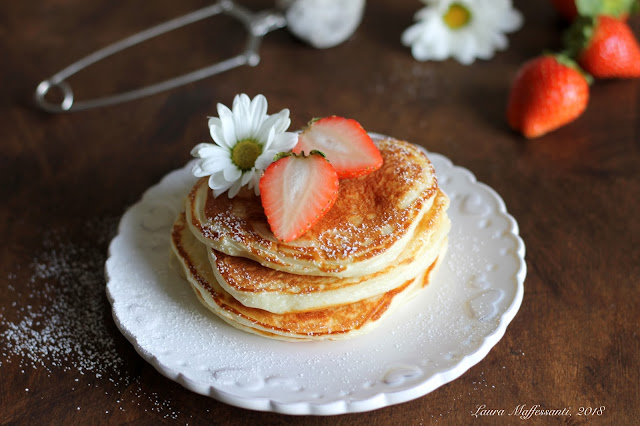 pancakes light senza burro