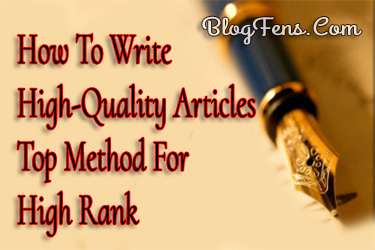 How To Write Articles Faster