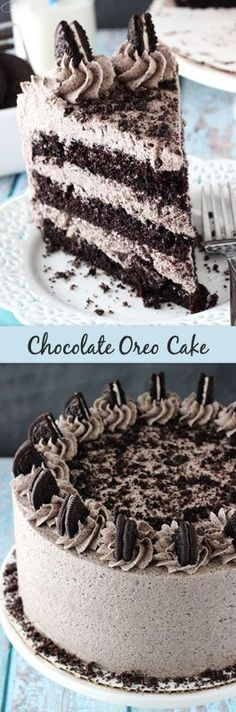 Amazing Chocolate Oreo Cake Recipe