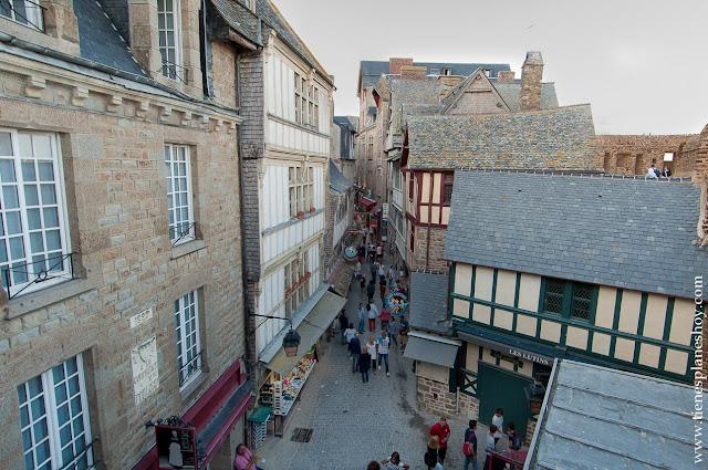 Visitar Mont Saint-Michel viaje Normandia Bretaña coche diario