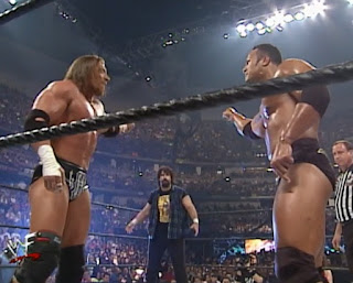 WWE / WWF Wrestlemania 2000 - The Rock, Triple H and Mick Foley