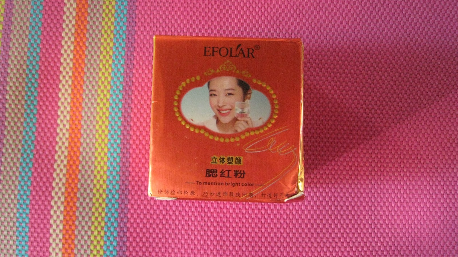 Efolar Bright Blush Bb Cream Makeup Blusher Mineral Powder Puff Peach Pink 02 Bioaqua On Cushion Flawless Cheek Review By Elgr Nail Art Health And Beauty Pages Eleftheria