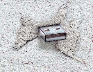 Как замаскировать USB порт (секретная флэшка)