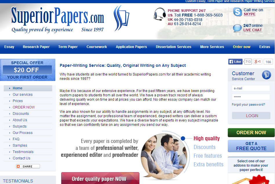Pay essay online