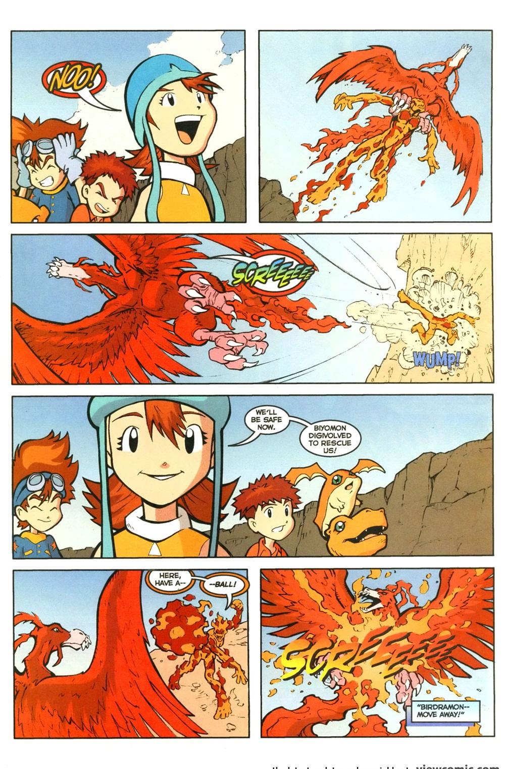 Digimon - Digital Monsters 04 (2000)   Viewcomic reading