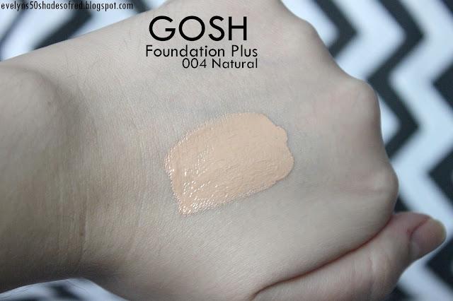 Gosh Foundation Plus 004 Natural