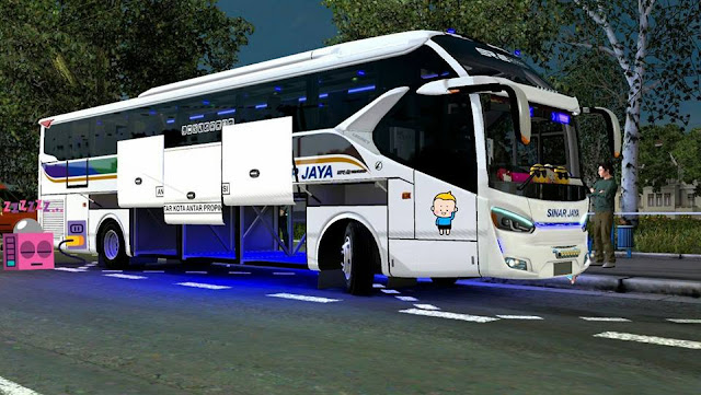 Download Mod bus SR2 XHD Ojepeje Team ETS2