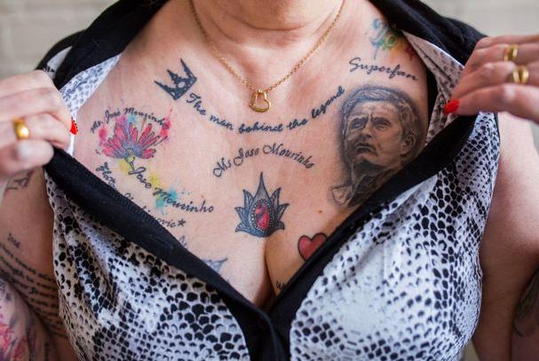 "Search result for ""grandma makes 20 tattoos of mourinho"""