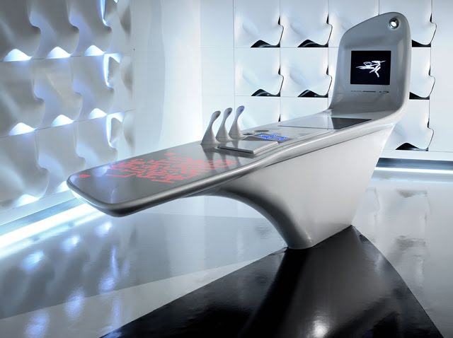 zisland kitchen is not simply a project created in order to astonish people and make them talk the kitchen area conceived by architect zaha hadid in - Futuristic Kitchen