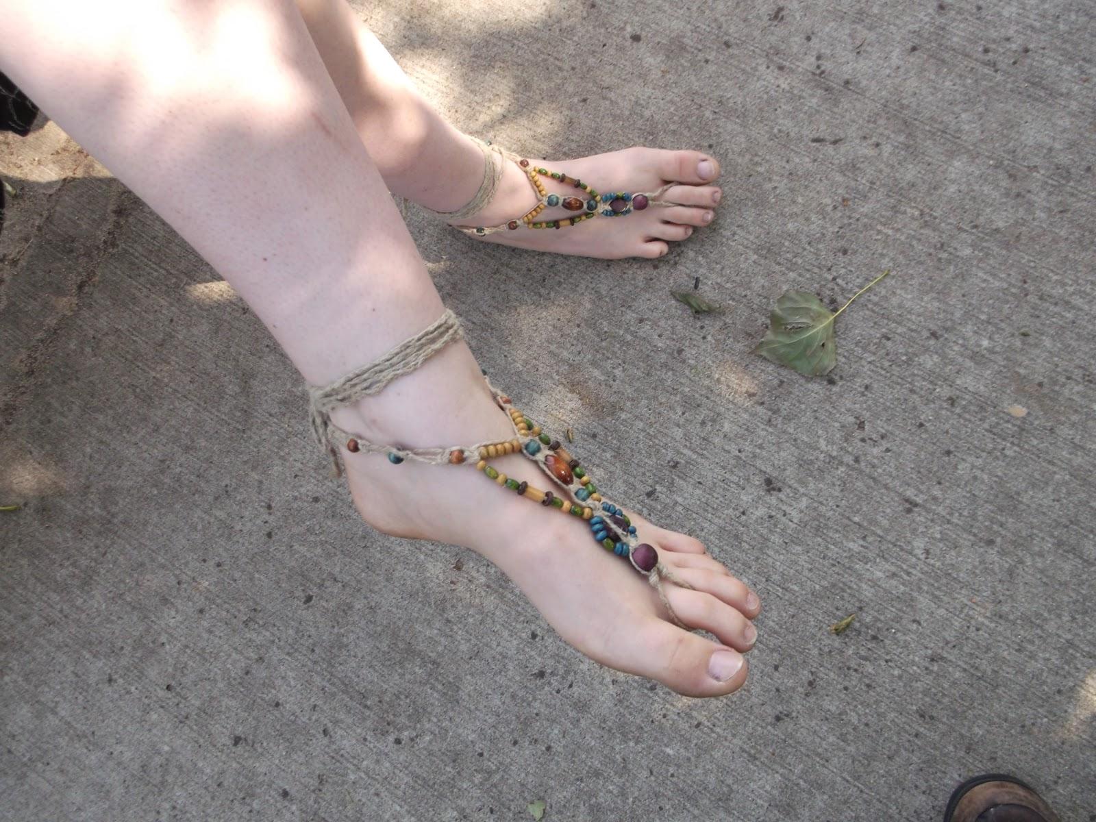 White bbw feet
