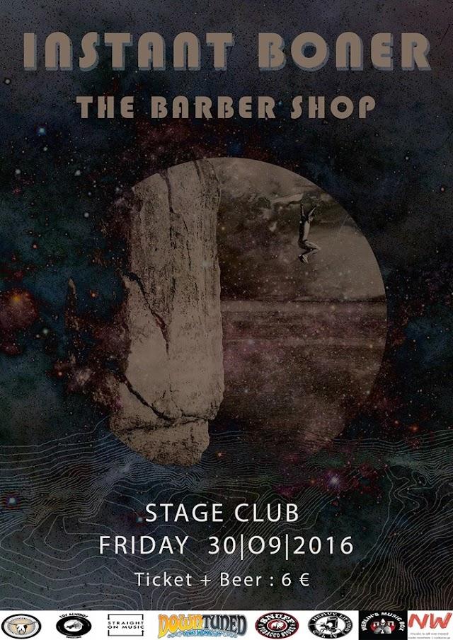 [News] Instant Boner / The Barber Shop LIVE@Stage (Larisa)