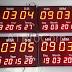 (Công Ty Khuân mẫu ZION) - Đồng hồ lịch vạn niên treo tường
