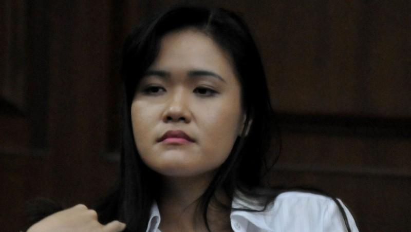 Jessica Kumala Wongso saat menjalani sidang lanjutan di PN Jakarta Pusat