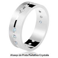 http://www.lojasrubi.com.br/alianca-de-prata-portofino-crystalis/p