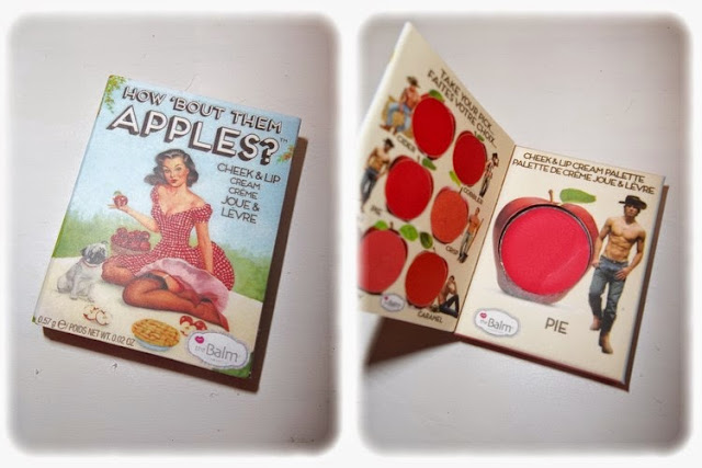 Crème Colorée pour les Joues et les Lèvres Pie Collection How 'Bout Them Apples - theBalm Cosmetics Birchbox Avril 2014