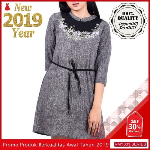 RMY040J86 Jeje Casual Dress Tangan Keren 7 Per BMGShop