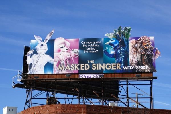Masked Singer series premiere billboard