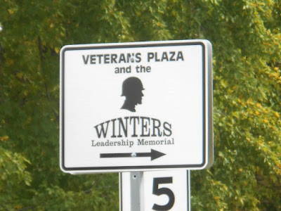 Veteran's Plaza Park Dick Winters Memorial in Ephrata Pennsylvania
