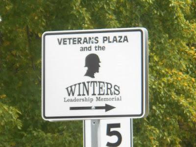 Veteran's Plaza Park Dick Winters Memorial in Ephrata Pennsylvania