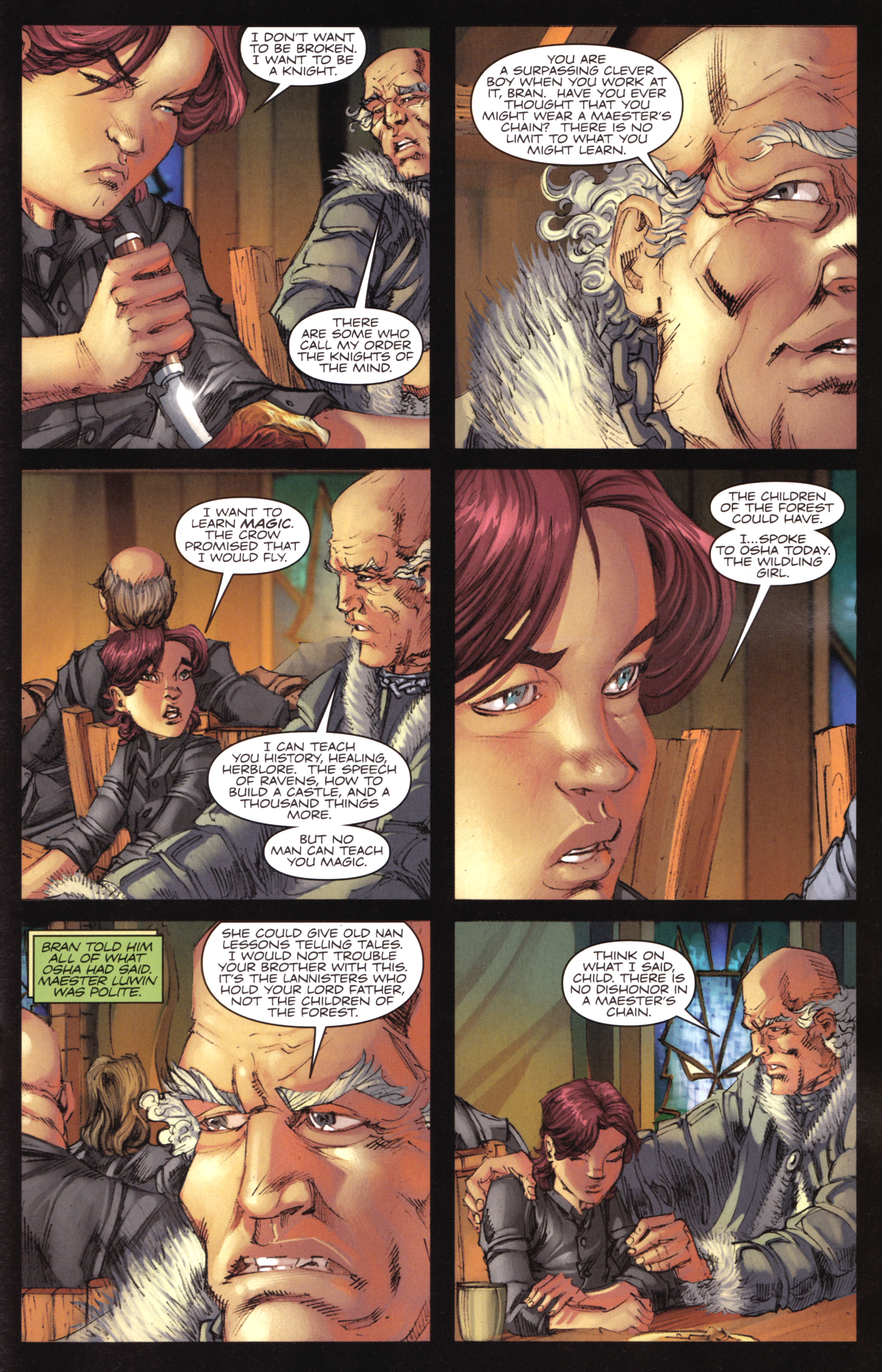 Read online A Game Of Thrones comic -  Issue #17 - 23