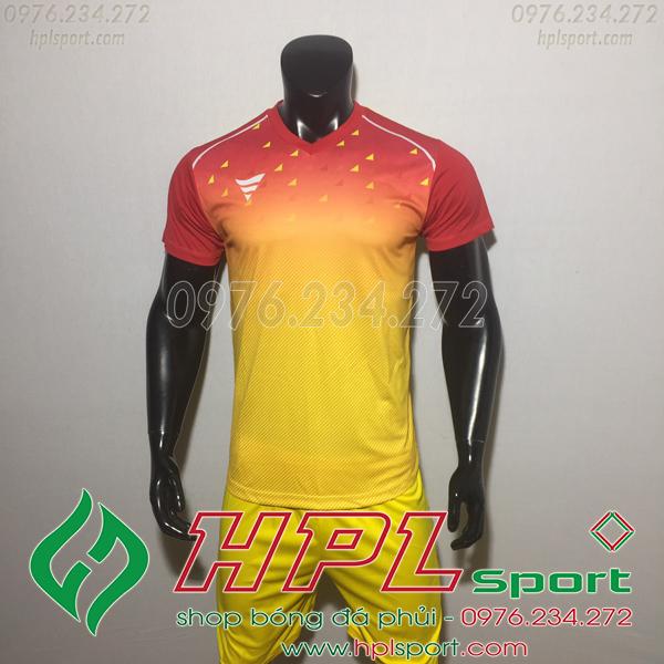 Áo bóng đá ko logo TA HAT Matic màu vàng