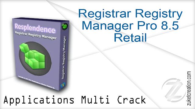 Registrar Registry Manager Pro 8.50 Retail