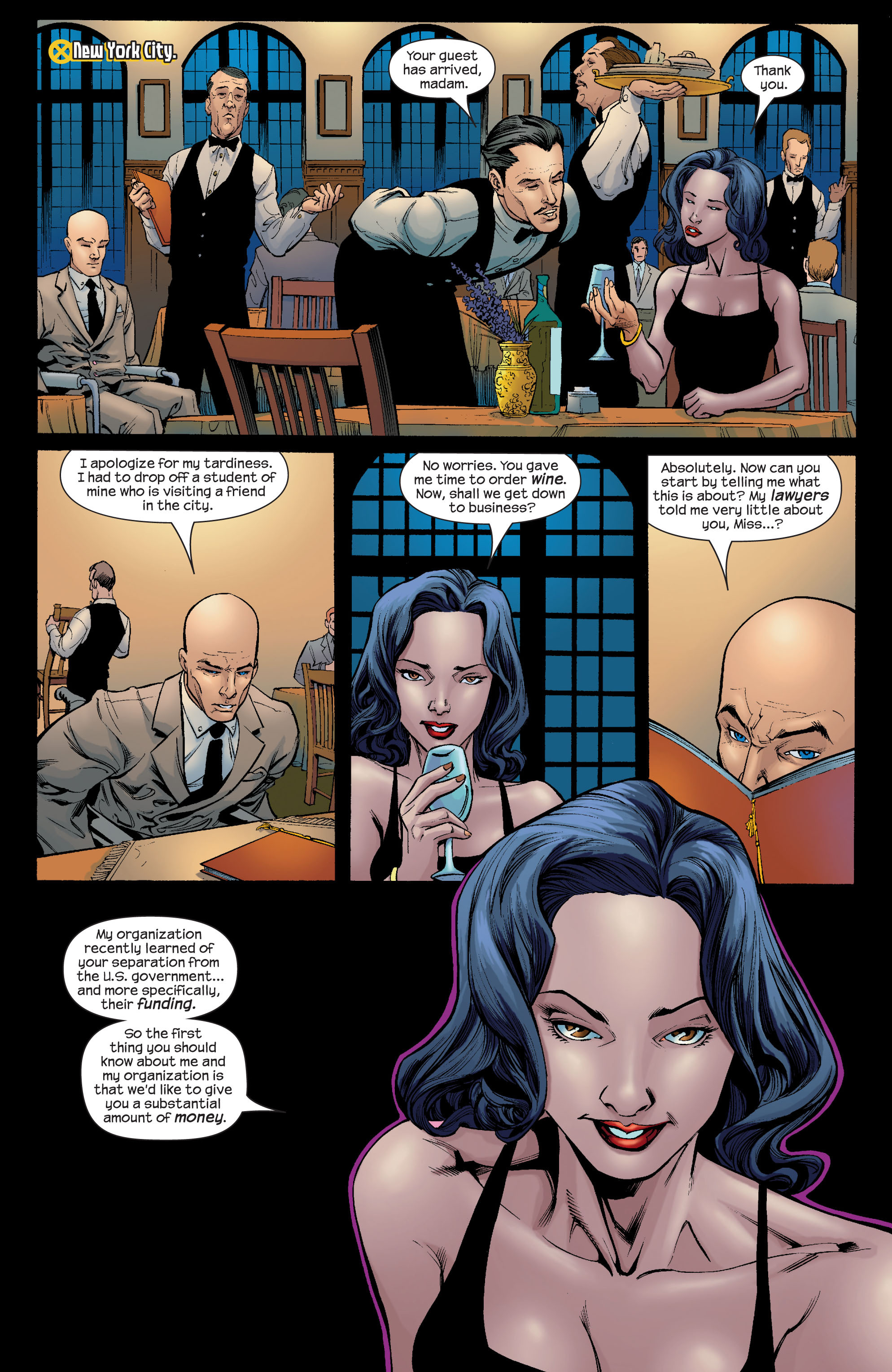 Read online Ultimate X-Men comic -  Issue #66 - 8