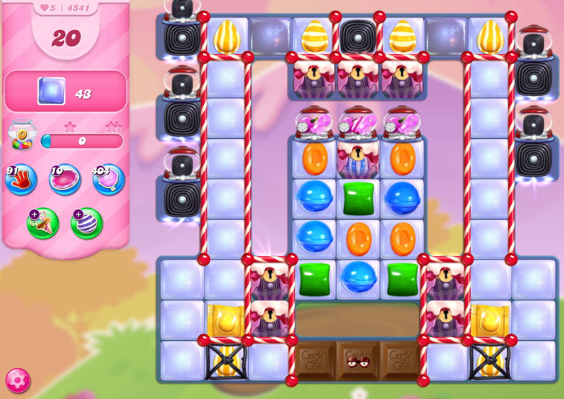 Candy Crush Saga level 4541
