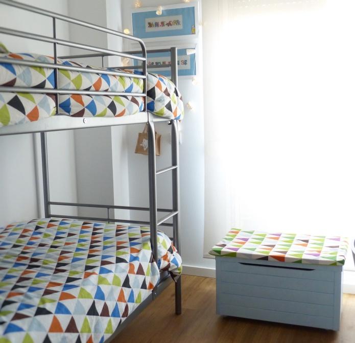 Aprendiendo a ordenar la habitación de los niños (mi casa)