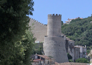 The remains of Itri's castle are worth a visit
