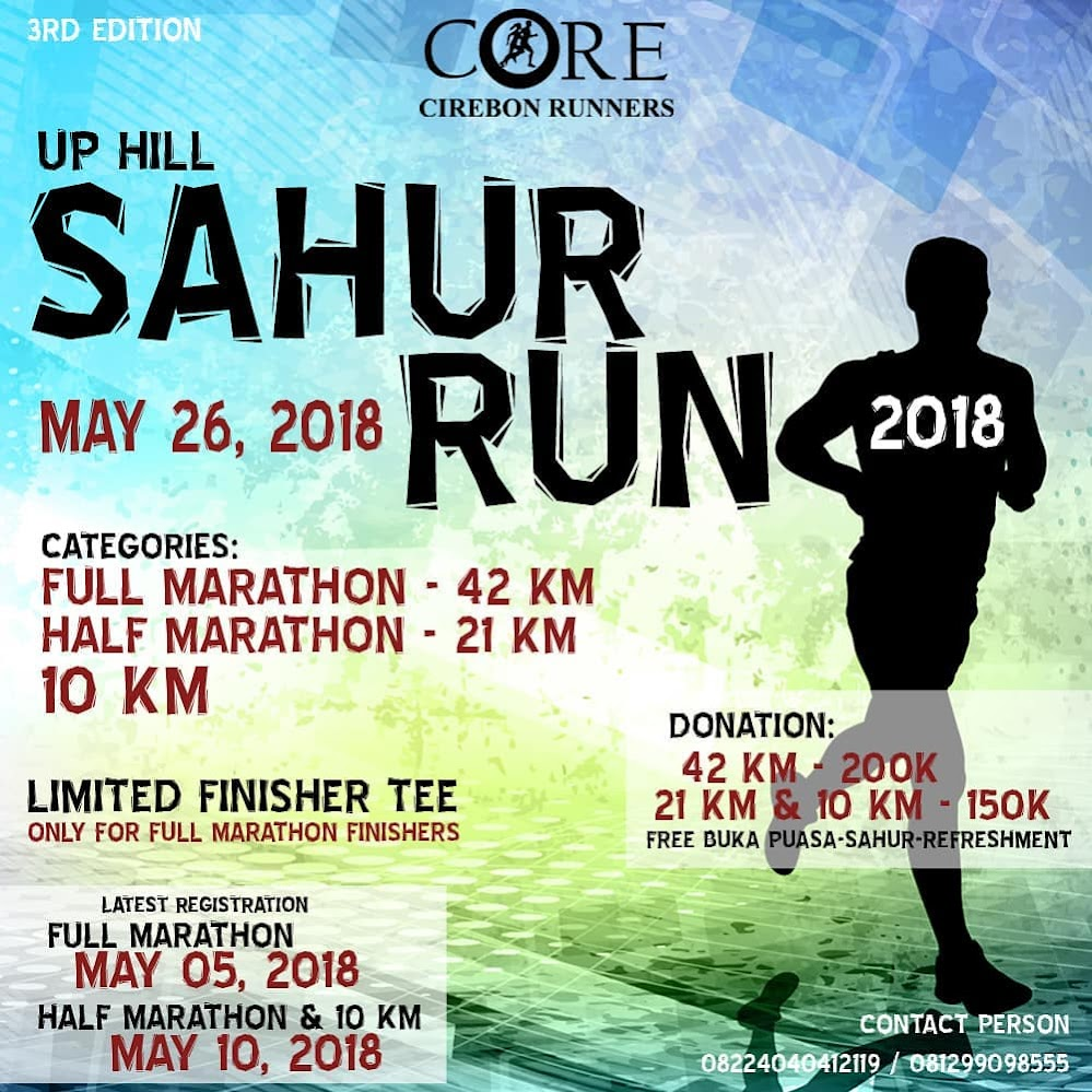 Up Hill Sahur Run • 2018
