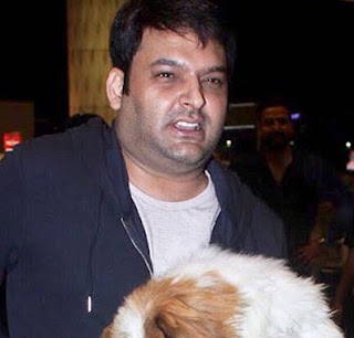 kapil sharma with his doggy